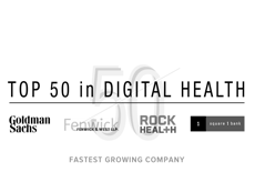 Award: Top 50 in Digital Health