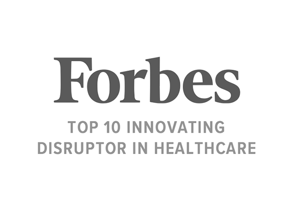 Award: Forbes Top 10 Innovating Disruptor In Healthcare